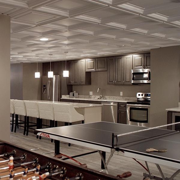 plafonds 101 plafond suspendu c plafond de gypse plafond mur l gant. Black Bedroom Furniture Sets. Home Design Ideas
