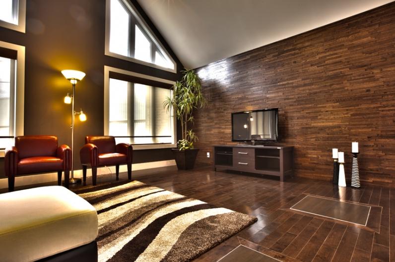 Finium mur plafond mur l gant - Latte en bois pour mur ...