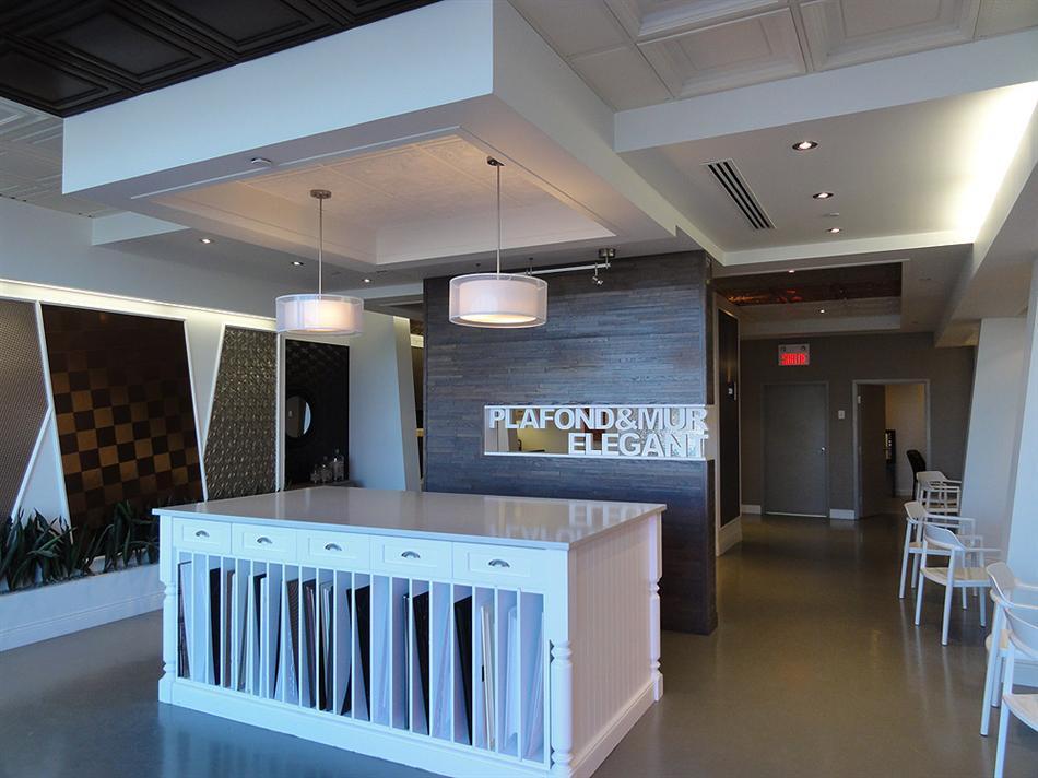 Plafond Suspendu - Salle de Montre à Montréal - 1