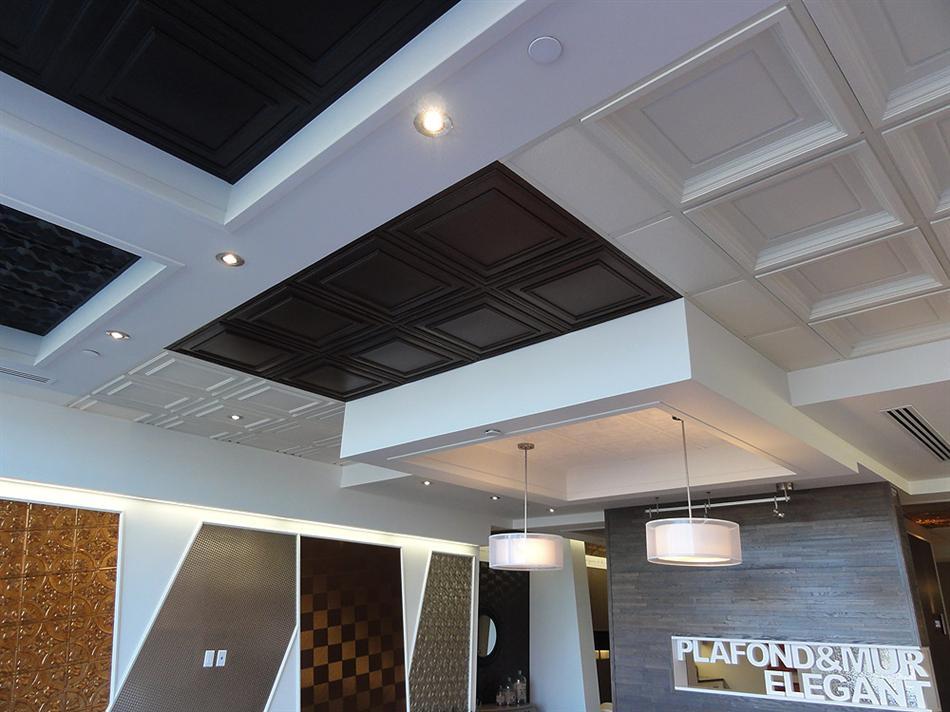 Plafond Suspendu - Salle de Montre à Montréal - 3