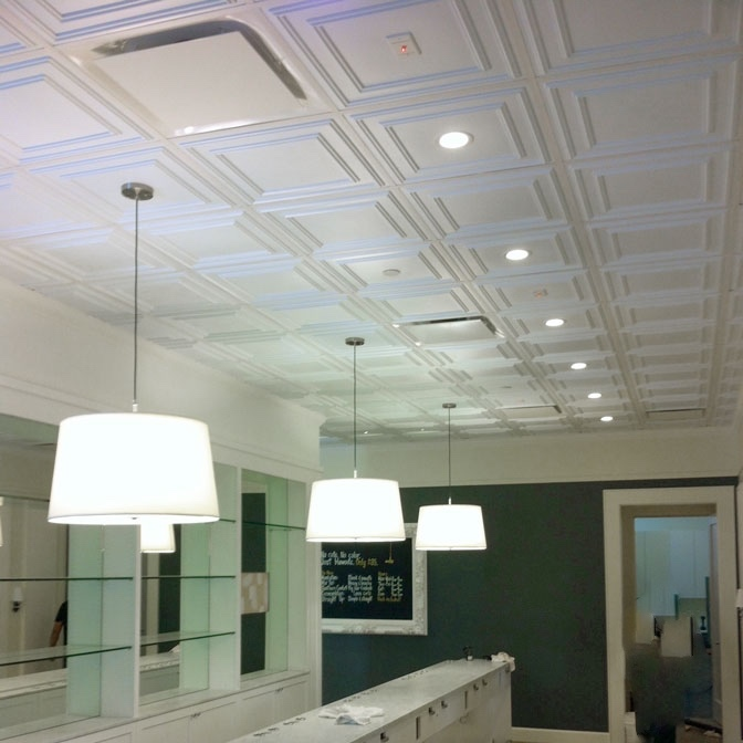Ceilume Cambridge Plafond suspendu