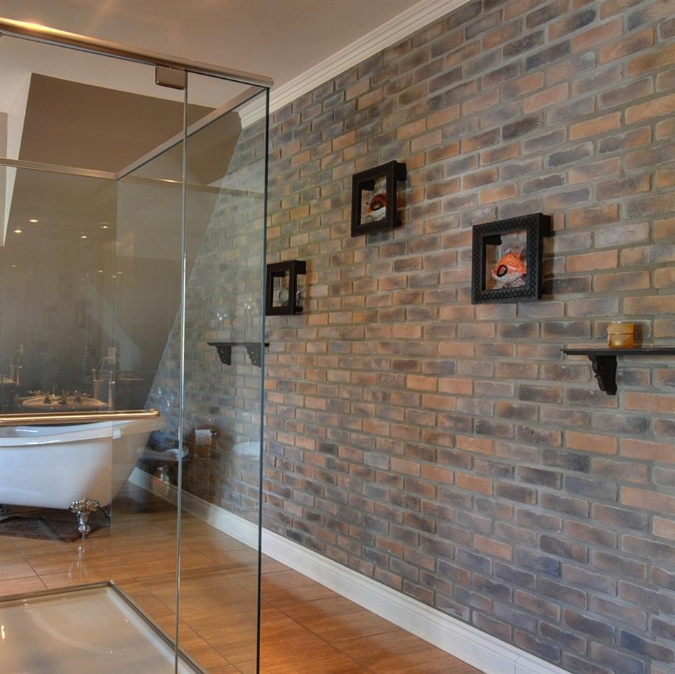 briquette blanche interieur murale papier peint vieux. Black Bedroom Furniture Sets. Home Design Ideas