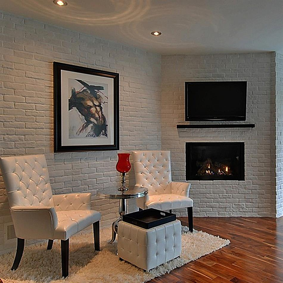 briquettes plafond mur l gant. Black Bedroom Furniture Sets. Home Design Ideas