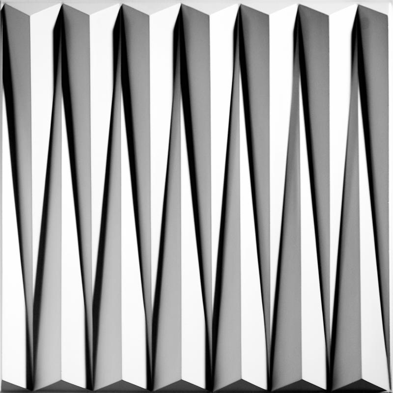Tuile de plafond suspendu ceilume dart 2 pi x 2 pi blanc for Tuile de plafond suspendu