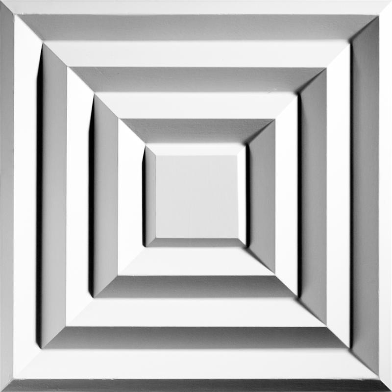 Tuile de plafond suspendu ceilume aristocrat 2 pi x 2 pi blanc for Accessoire plafond suspendu