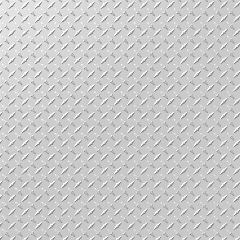 Tuile de plafond suspendu mirroflex diamond plate 2 pi x 2 for Tuile de plafond suspendu
